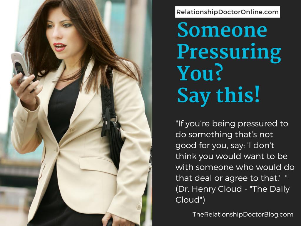 Pressuring