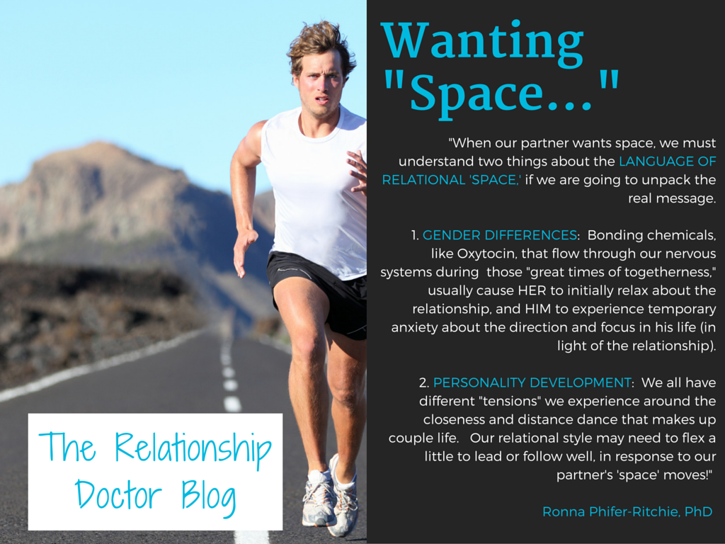 wanting space in a relationship
